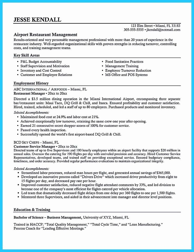 Bar Manager Job Description Resume Elegant Pin On Resume Template Manager Resume Resume Resume Examples