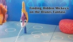 Hidden Mickey's on the #Disney Fantasy #TravelwiththeMagic