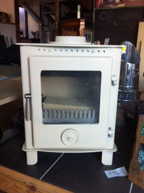 5kW DEFRA APPROVED CREAM MULTI FUEL WOODBURNING STOVE | eBay