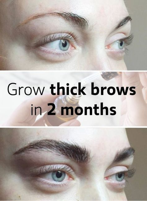 how to make my eyebrows grow back thicker