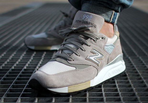 Clean, Grey 998 New Balances...