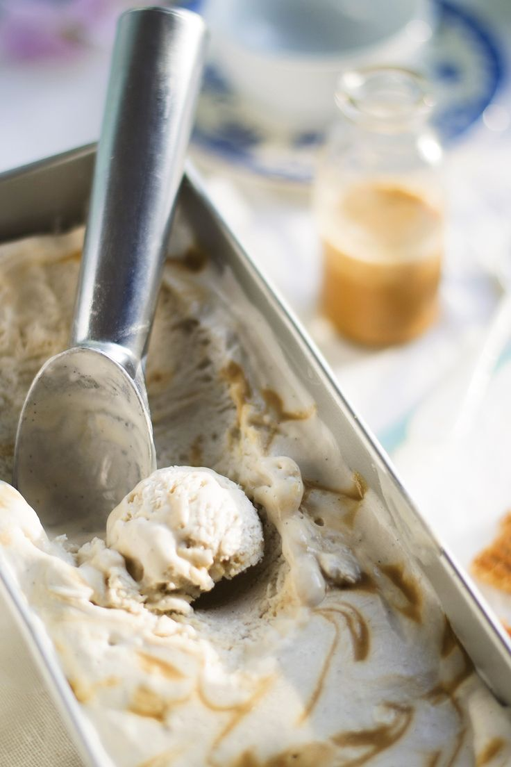 Coconut Caramel Ice Cream | Eat Me Baby
