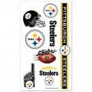 Pittsburgh Steelers Temporary Tattoos | #Pittsburgh #Pennsylvania #Steelers #PittsburghSteelers #Memorabilia #Sports #Merchandise #Football #NFL | Order Today At www.sportsnutemporium For Only $1.95