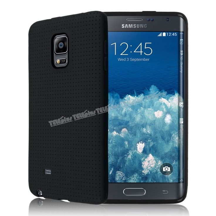 Samsung Galaxy Note Edge Silikon Kılıf Siyah -  - Price : TL21.90. Buy now at http://www.teleplus.com.tr/index.php/samsung-galaxy-note-edge-silikon-kilif-siyah.html
