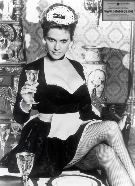 Yvette (Colleen Camp) from the movie Clue, 1985