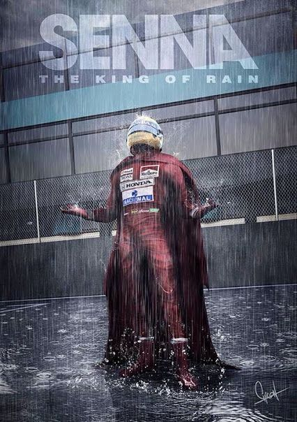 Ayrton Senna, The King of Rain