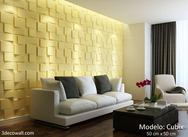 9 best Paneles 3D para el hogar images on Pinterest | 3d wall panels ...