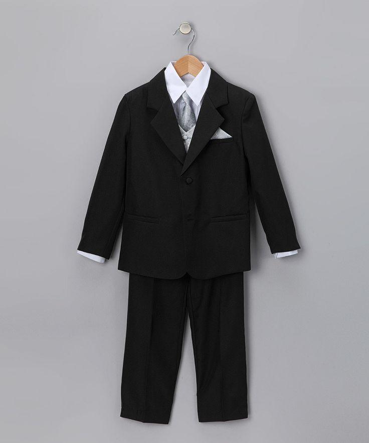 Black & Gray Tuxedo