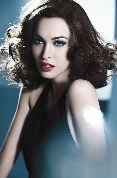 Gorgeous Hollywood Glamour for Armani Beauty. Megan Fox.