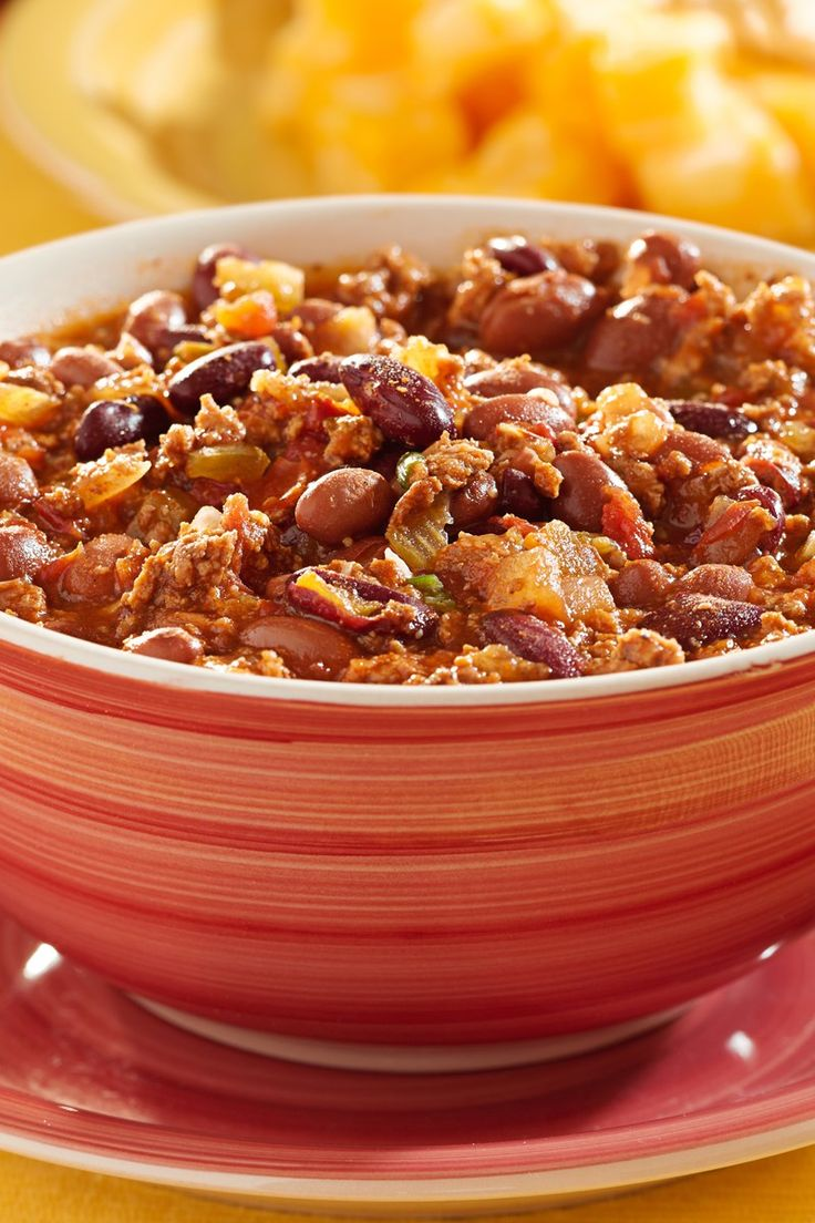 Weight Watchers Slow Cooker Chili (3 Points)