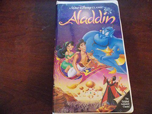 Aladdin Disney VHS Black Diamond RARE! Aladdin VHS Black Diamond RARE! A must Have for any Disney collector! Case in good condition, Great collectors item.  #Aladdin #Collectibles #Disney