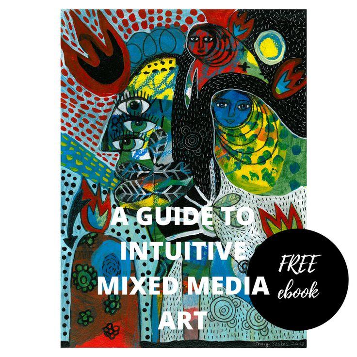 Free intuitive mixed media art ebook