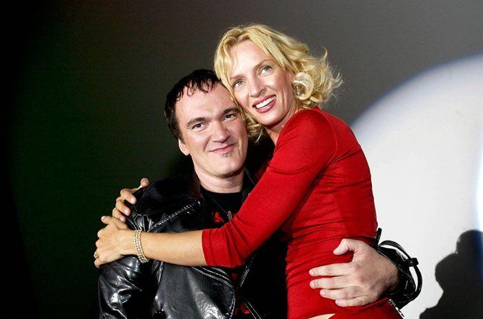 Квентин Тарантино и Ума Турман. / Фото: www.woman.ru