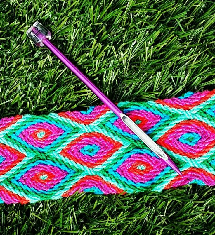 """Gripfid naald voor het ply-split braiding! Voor het maken van de draagband vd mochila bag. Te koop bij """"Mijn schoonzus en ik"""" .... volg ons op www.facebook.com/mijnschoonzusenik"""