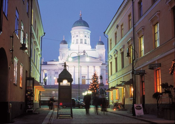 Helsinki at Christmas time :)