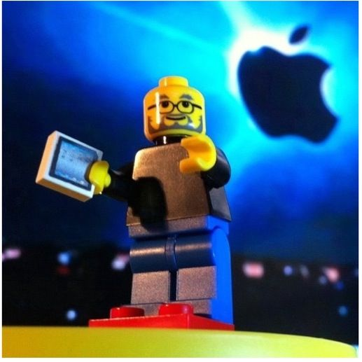 LEGO Steve Jobs: Job Apples, Custom Lego, Job Lego, Lego Minifig, Lego Awsom, Lego Stevejob, Apples Computers, Lego Ipad, Steve Job
