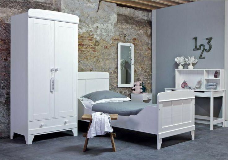 25 beste idee n over wit grijze slaapkamers op pinterest grijs slaapkamerdecor grijze - Witte meubels en rode ...