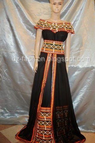 موديل قنادر قبائلية 2015 - robe kabyle moderne | Dz Fashion