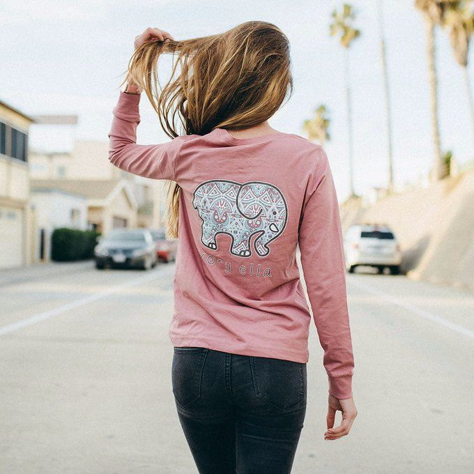 Supersoft with a body-skimming fit, our fitted long sleeve tees are perfect for a day out with your BFFs. - 100% Cotton - Hand-wash before first wear - Screen printed in America - Front pocket - Women