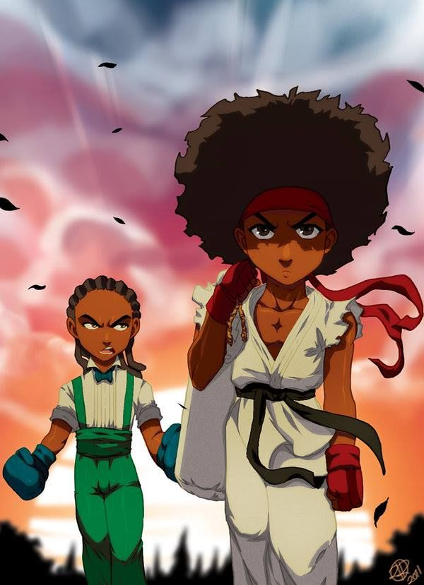 African American Anime Characters