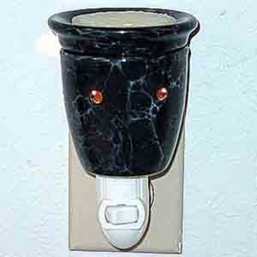 Plug-In Tart Burner - Marble Black