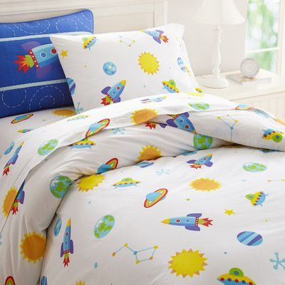 Wildkin Olive Kids Out of This World Duvet Cover Set Size: Twin