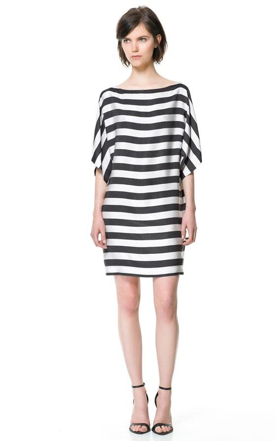 STRIPED DRESS Zara http://www.zara.com/webapp/wcs