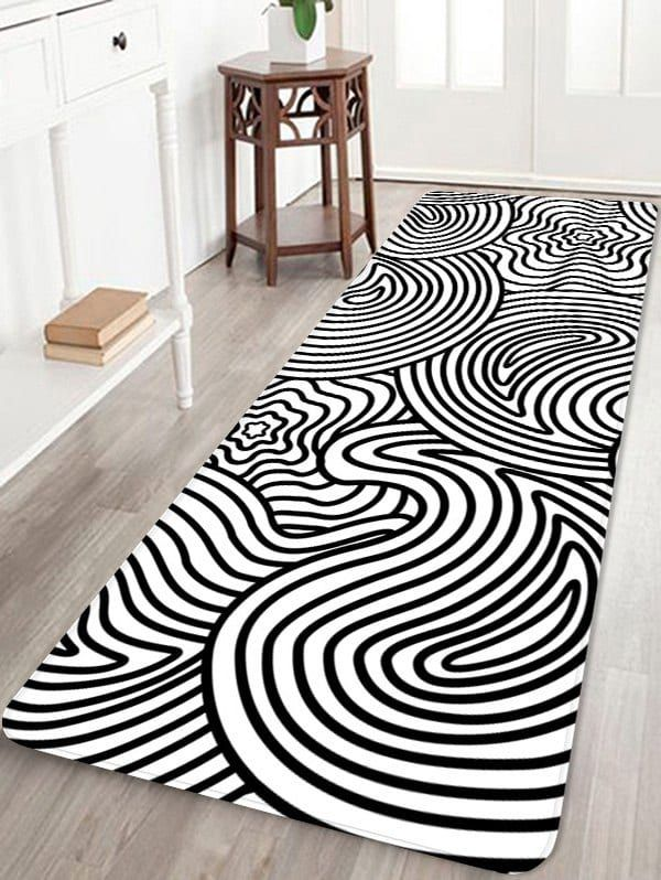 Home Decor Labyrinth Pattern Indoor Antiskid Floor Mat in 2018