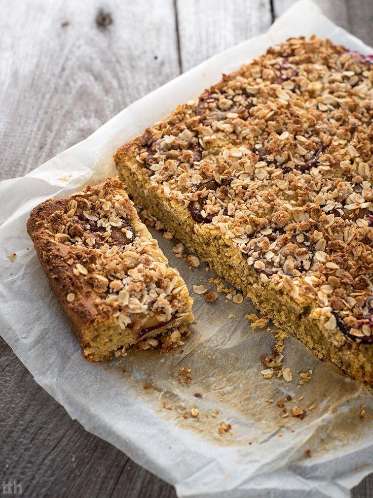 true taste hunters - kuchnia roślinna: Ciasto drożdżowe ze śliwkami (wegańskie, bezglutenowe, bez cukru)