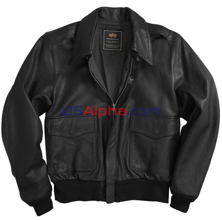 Куртка A-2 Leather /Кожа/ #аляска #парка #куртка #мужская куртка #зимняя куртка #usalpha.com #бомбер #летная куртка #демисезон