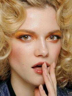 Orange Eye Makeup for 2010