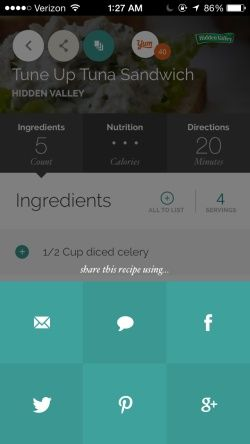Yummly Recipes & Grocery Shopping List Screenshots