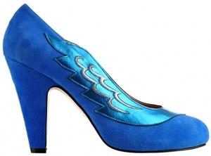 Lulu electric blue by Minna Parikka