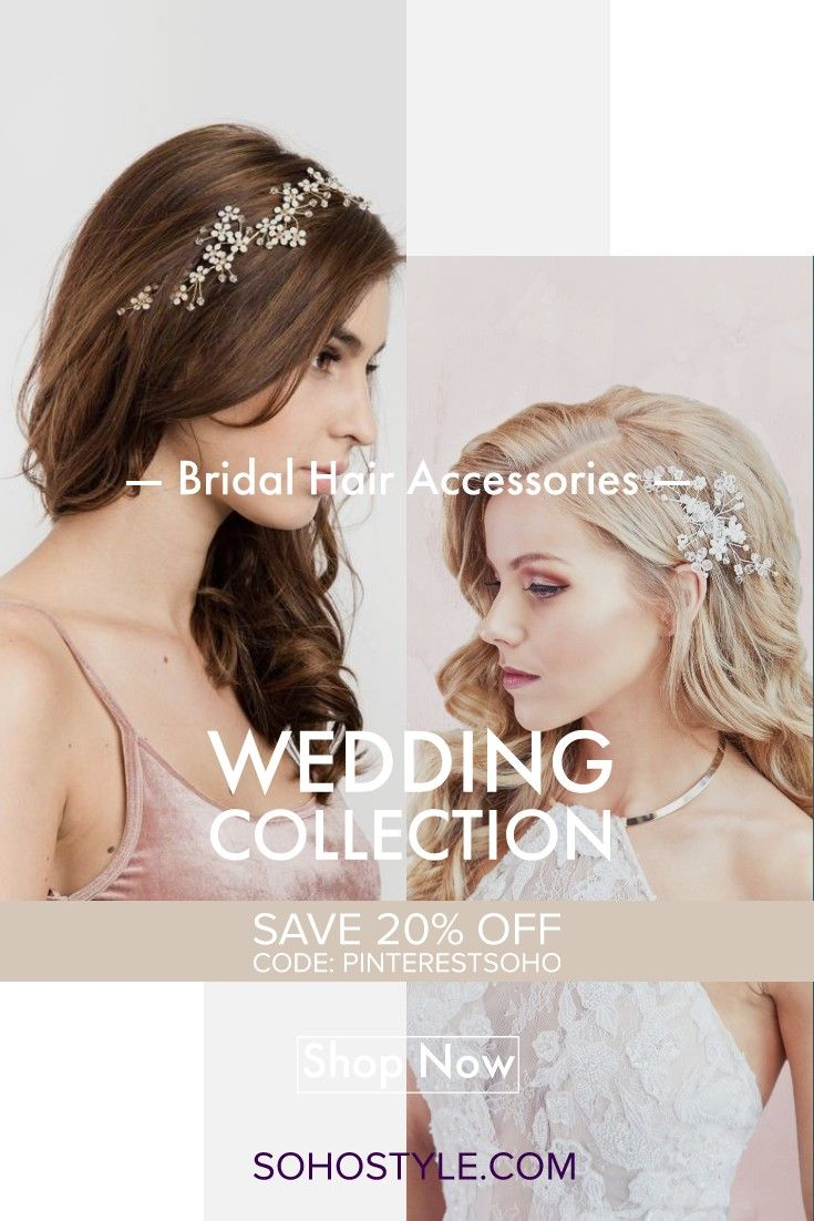 adorn your hair on your big wedding day or other special