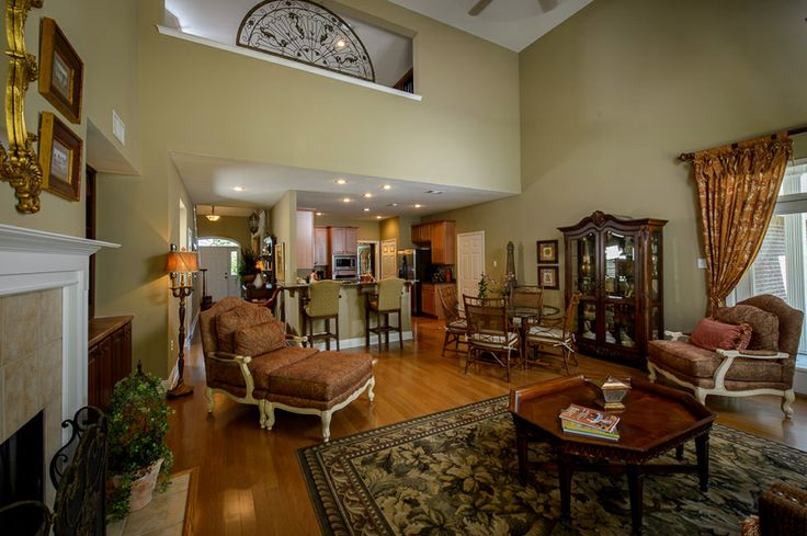 Decorated model homes living rooms pinterest models and blog - Who decorates model homes image ...