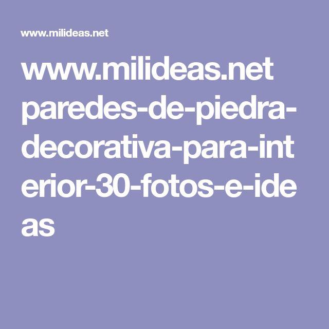 Paredes De Piedra Decorativa Para Interior. 30 Fotos E Ideas