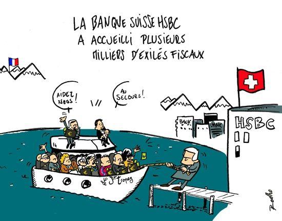 Swissleak et people , Gad Elmaleh et Monaco