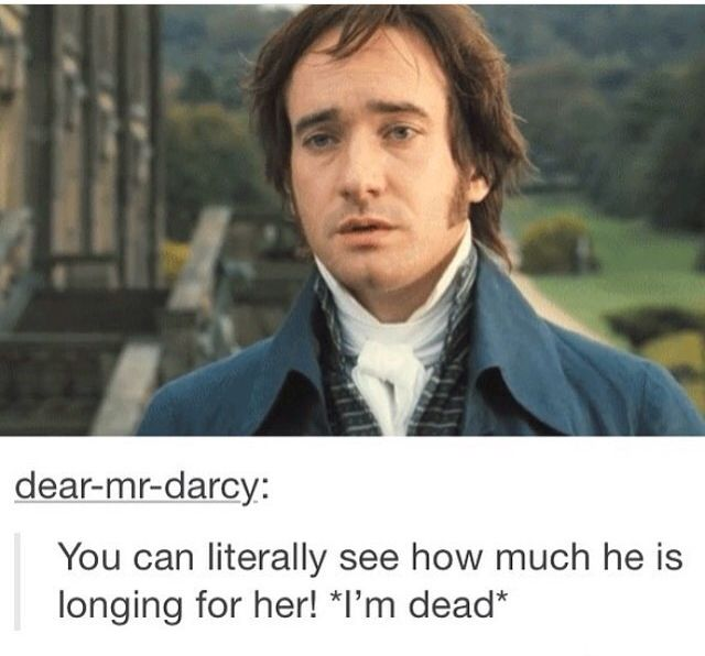 My heart!!! Ahh!!! Mr. Darcy... ❤️