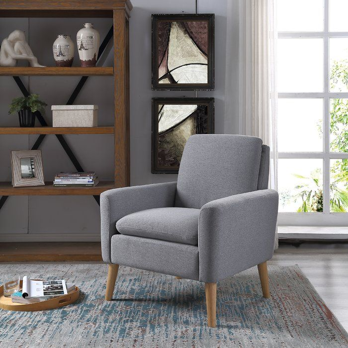 George Oliver Bulter Armchair Reviews Wayfair Arm Chairs Living Room Single Sofa Chair Living Room Chairs