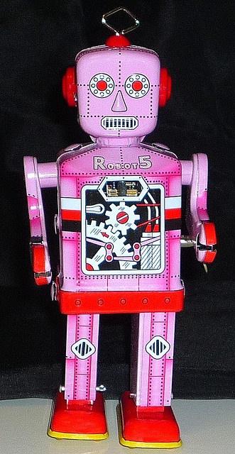 ROBOT 5    ROBOT ISLAND Chine Année 2000 19cm