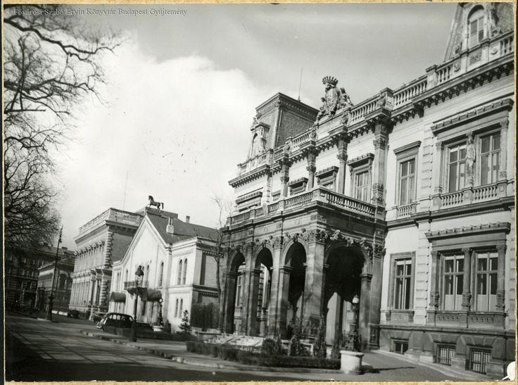 Károlyi palace, the National Riding Hall, Festetics palace