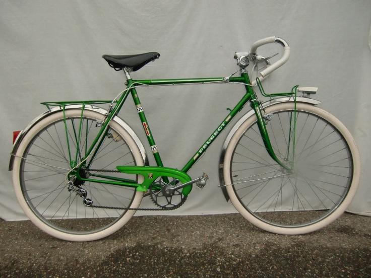 v lo randonneuse peugeot ann e 60 vert neuf la grange aux v los bikes gear pinterest. Black Bedroom Furniture Sets. Home Design Ideas