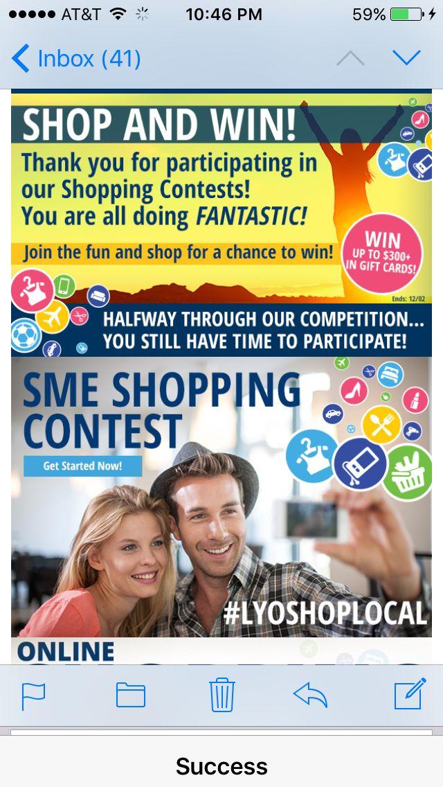 #ShoppingContest www.TheCashbackQueen.info