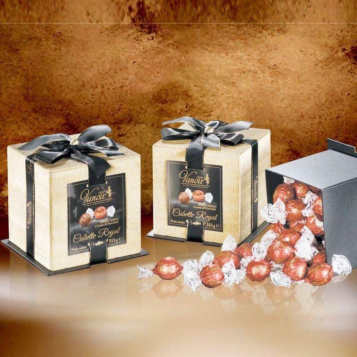 Elegante 6 Pack Würfel Schokolade Pralinen