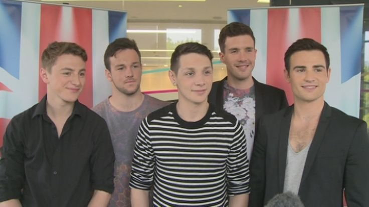 And the Winners are    ... Britain's Got Talent 2014: Collabro talk wanting to be in Glee and how t...