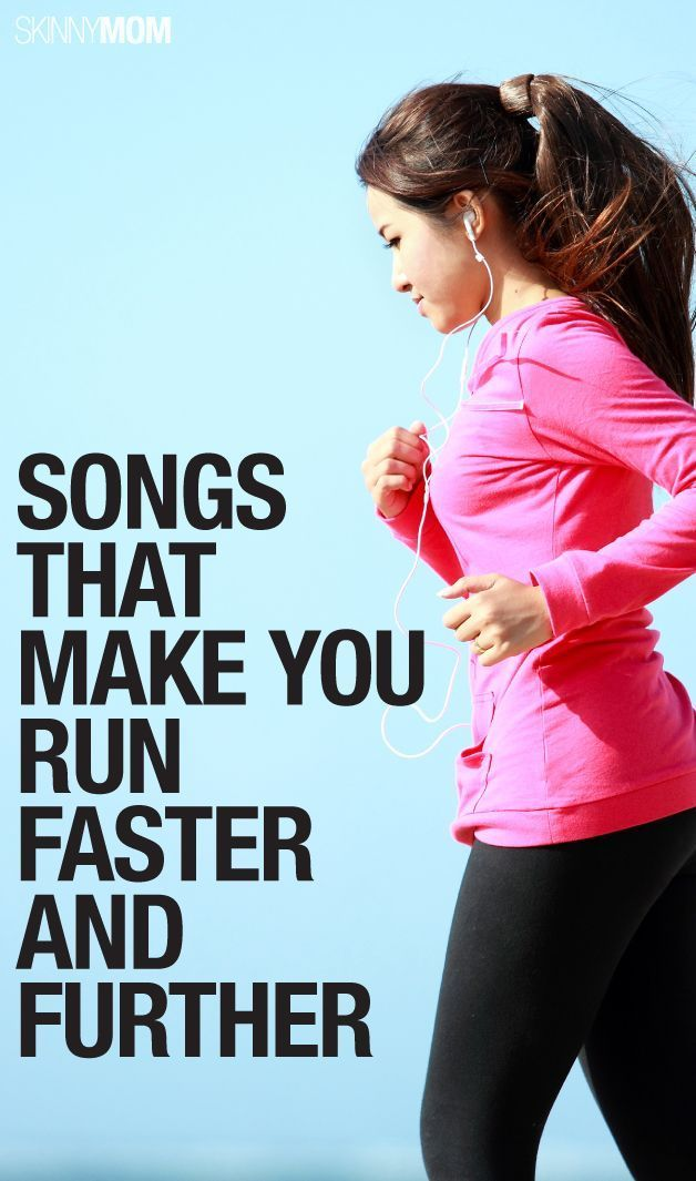 Songs to Run faster and further