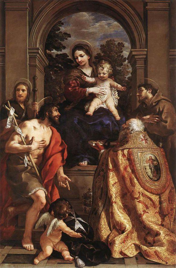 Pietro Berrettini, The Virgin with Saints (Museo dell'Accademia Etrusca e del Comune di Cortona)