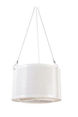 Lampa DRUM - biała // Ekodizajn