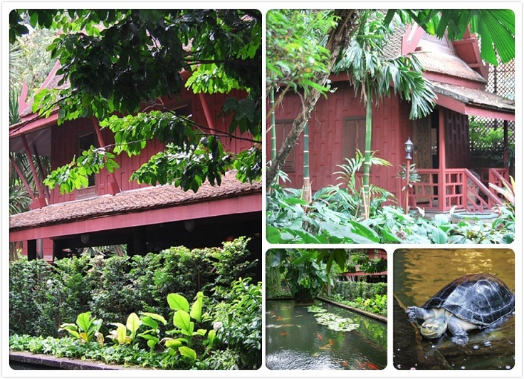 Jim Thompson House Museum - Thai crafts in the eyes of an American
