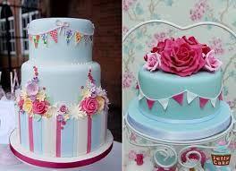 Inspiration for a Bunting cake and cupcakes. Novelty Cakes Dubai. Sweet Secrets. www.sweetsecretsdubai.com